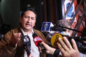 Corte Suprema declara inadmisible casación de Vladimir Cerrón