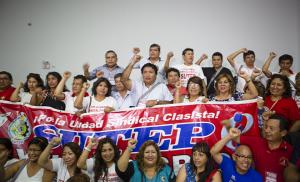 Sutep pide a la ministra de Trabajo que se pronuncie sobre su pedido de nulidad a la inscripción de la Fenate
